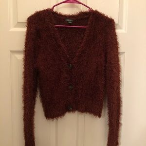 Wild Fable fuzzy cardigan size small